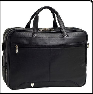 "Torba biznesowa na laptopa Skóra WEST LOOP 15,4"" Mcklein"